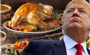 News Flash: Trump Celebrates Thanksgiving At Mosque in Jersey City