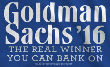 News Flash: Goldman Sachs To Acquire Bernie Sanders